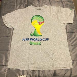 Adidas Brasil 2014 FIFA World Cup T-shirt